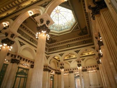 Que ve en Argentina - Cupula Teatro Colon de Buenos Aires