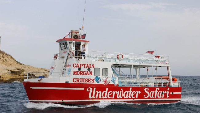 Festa Maltan goizaldera arte, Morgan Cruises kapitainarekin