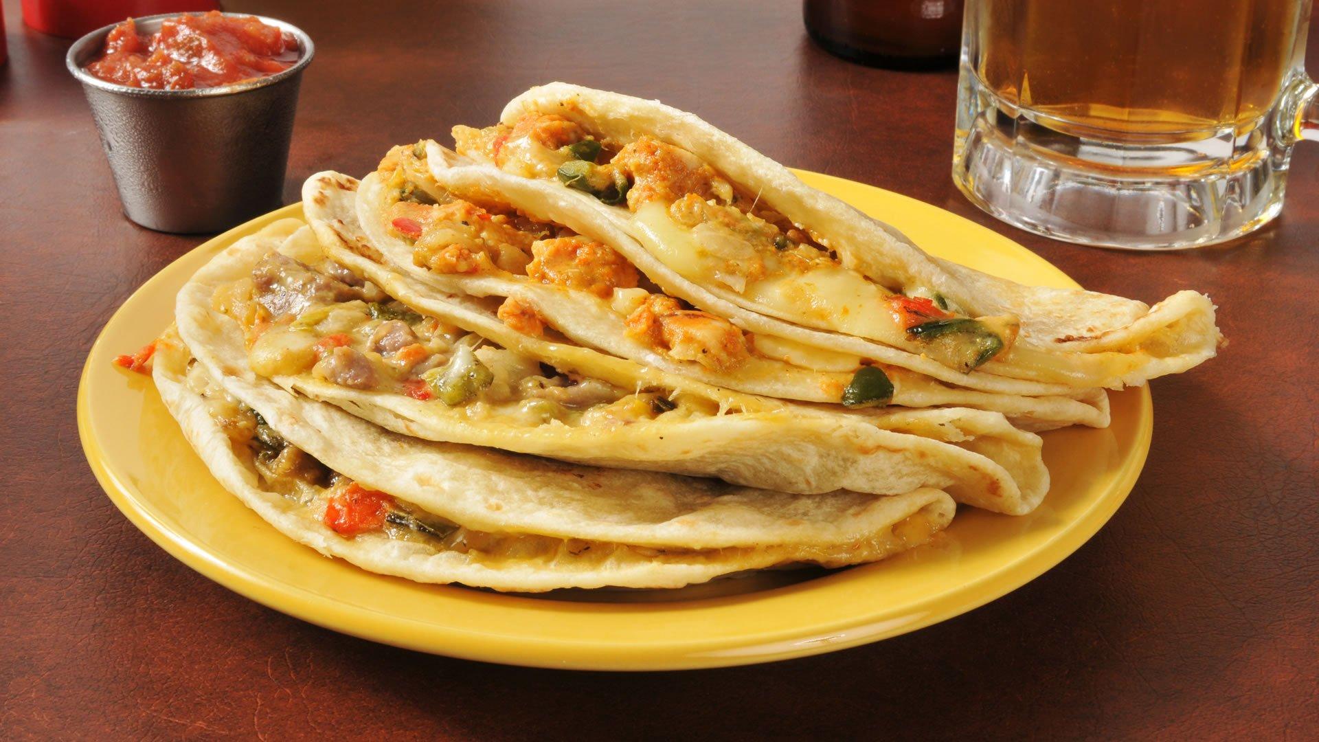 Quesadillas, lado exótico de la comida mexicana - Tabasco HOY