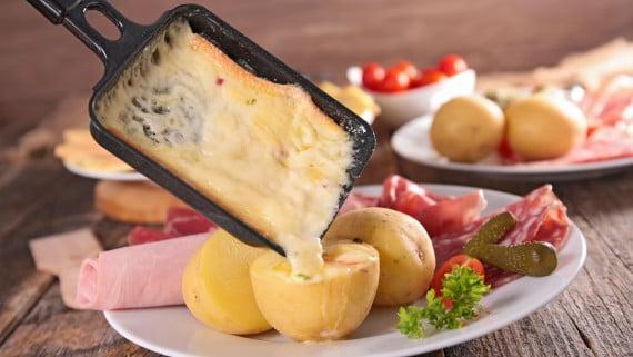 El queso raclette, un básico en toda raclette
