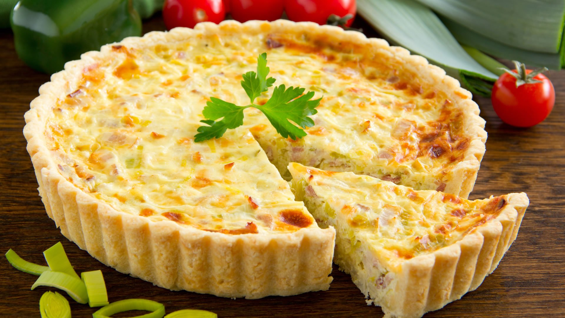 Quiche lorraine for Paris francia comida tipica