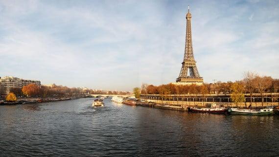 Ποταμός Σηκουάνας, Παρίσι, Γαλλία