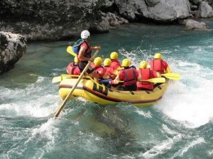 Rafting por Galicia