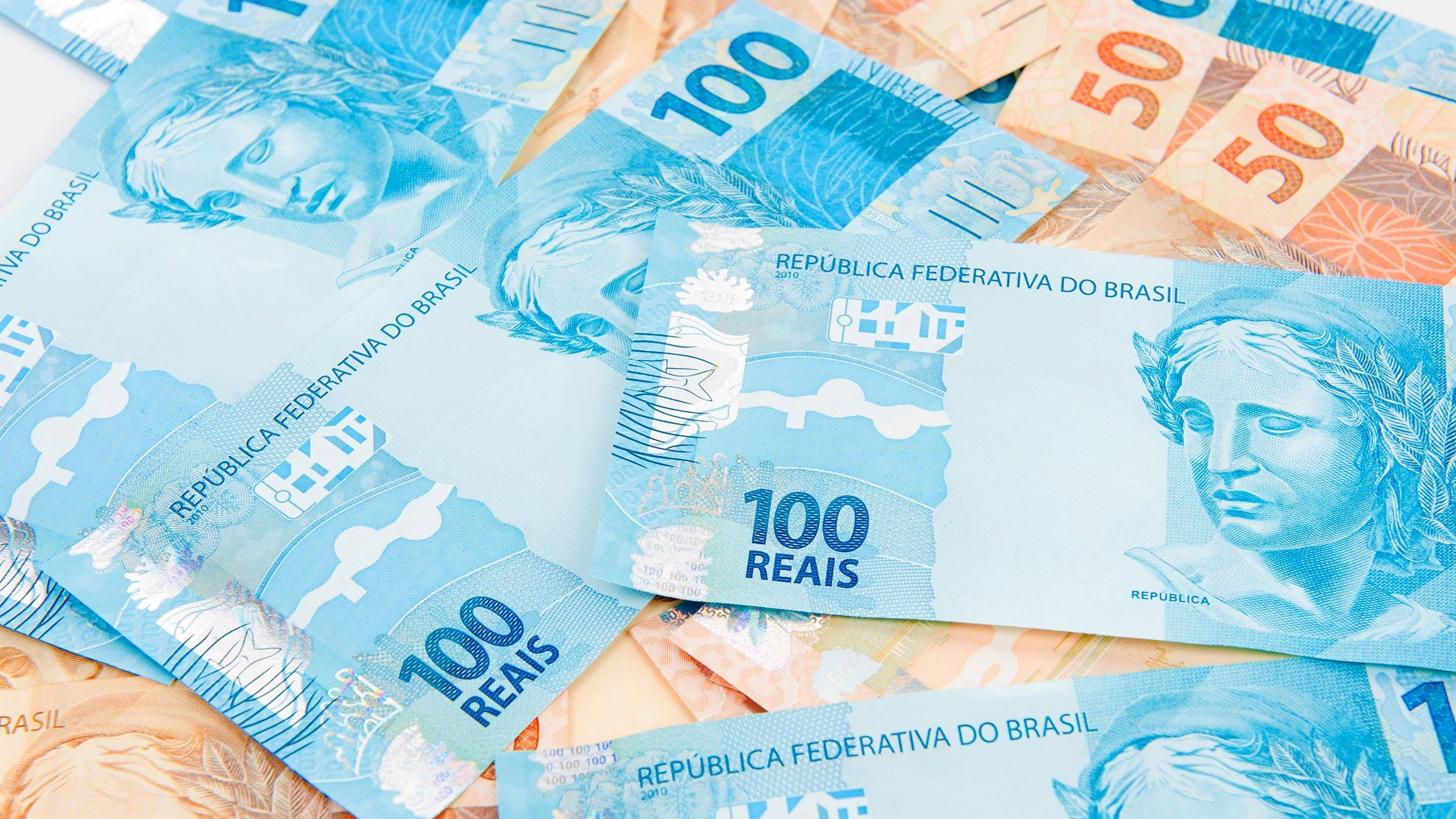 Reales de brasil