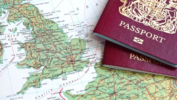 Documentation de base pour entrer en Angleterre