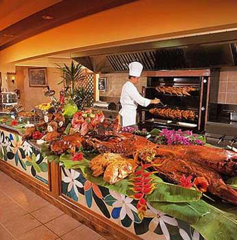 Restaurante de el Intercontinental Resort Tahiti