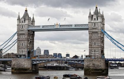 Rio Tamesis en Londres