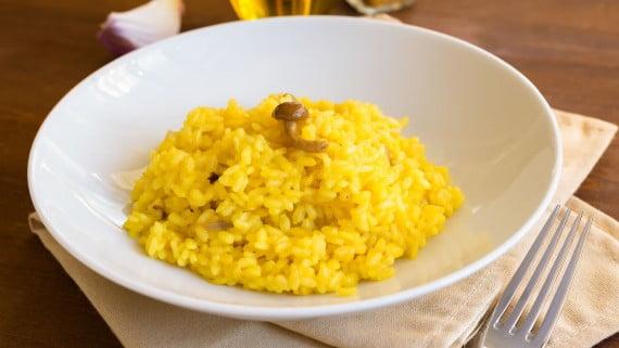 Risotto alla milanese o risotto allo zafferano