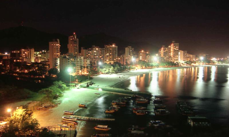 Rodadero en Santa Marta es la zona comercial de la ciudad.
