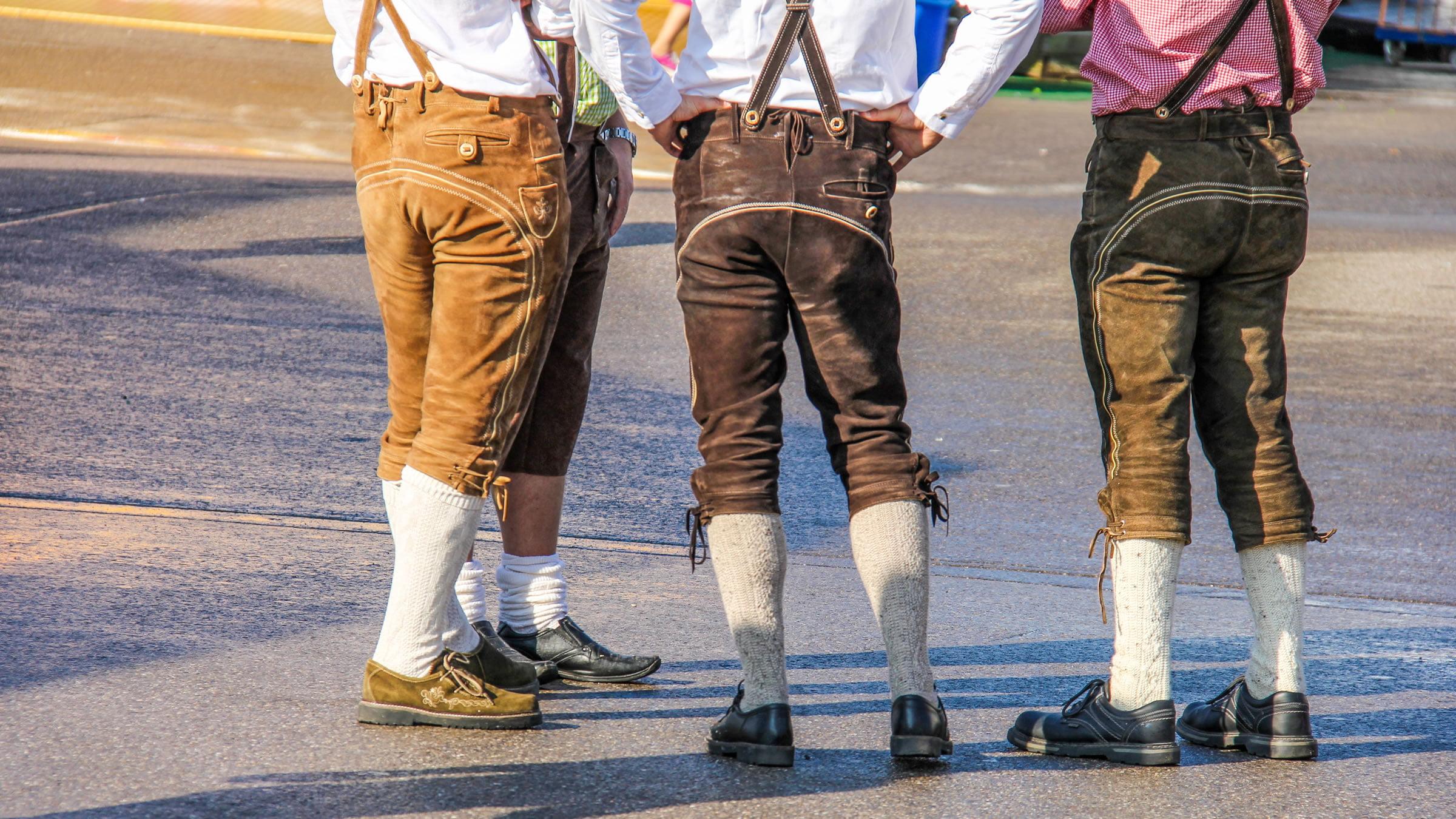 Ropa tradicional en Alemania