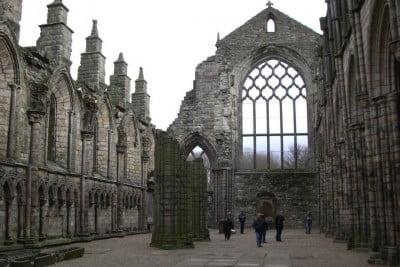 Ruinas en la Abadía de Westminster
