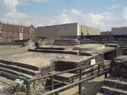 Ruinas de Tenochtitlán