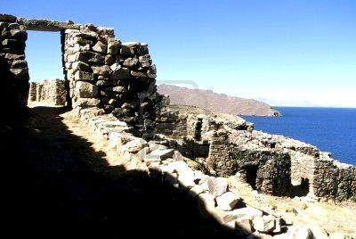 Ruinas del Lago Titicaca