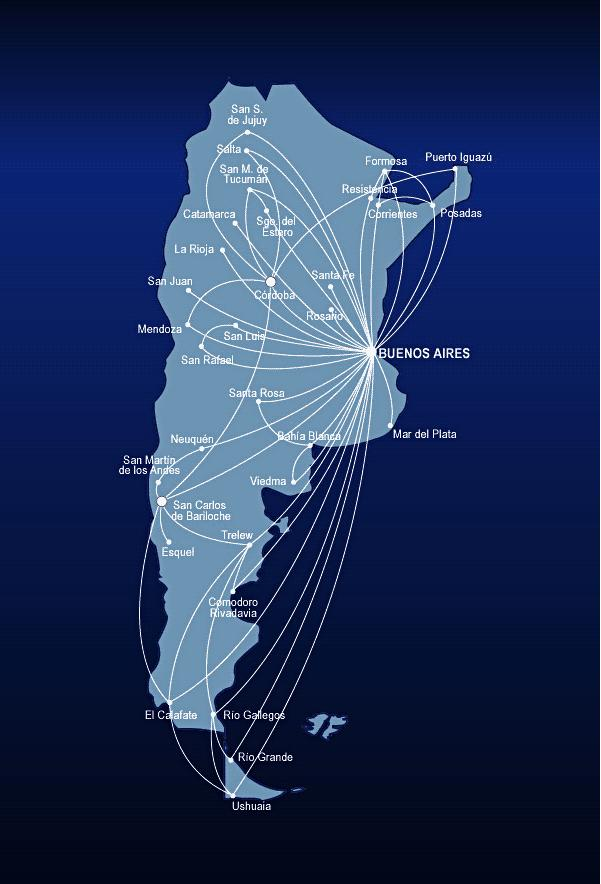 Ruta Aerolineas Argentinas