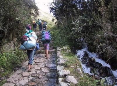 Ruta El Camino del Inca