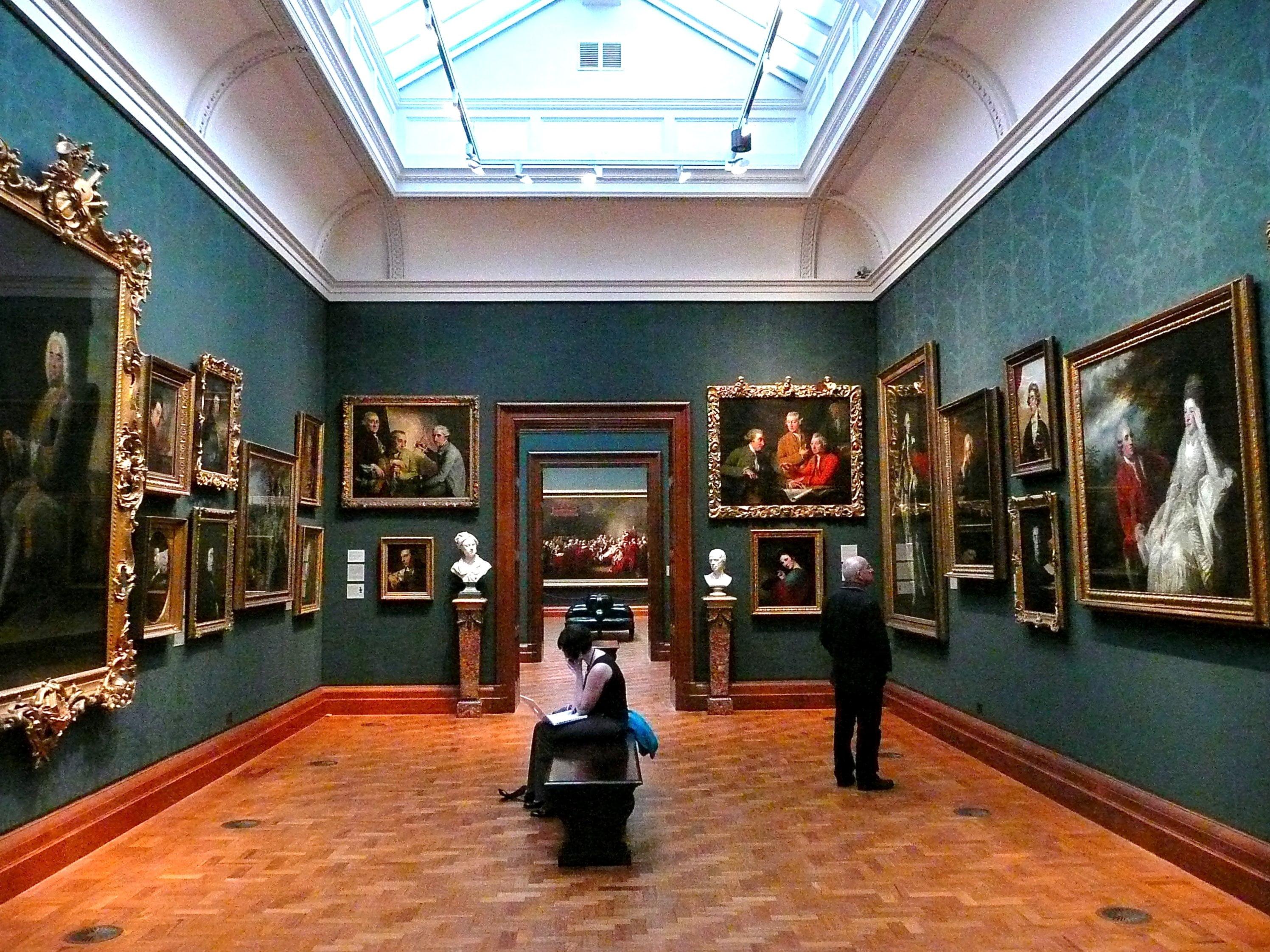 Interior de la National Portarit Gallery