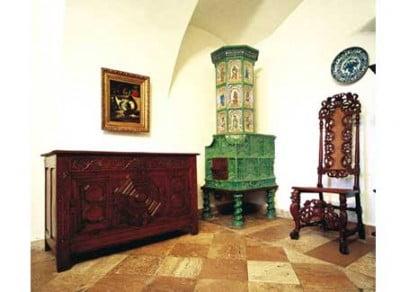 Sala del Museo del Castillo de Nagyteteny