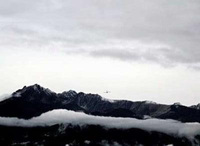 Salida del aeropuerto de Innsbruck