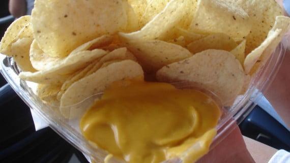 Salsa cremosa de queso cheddar