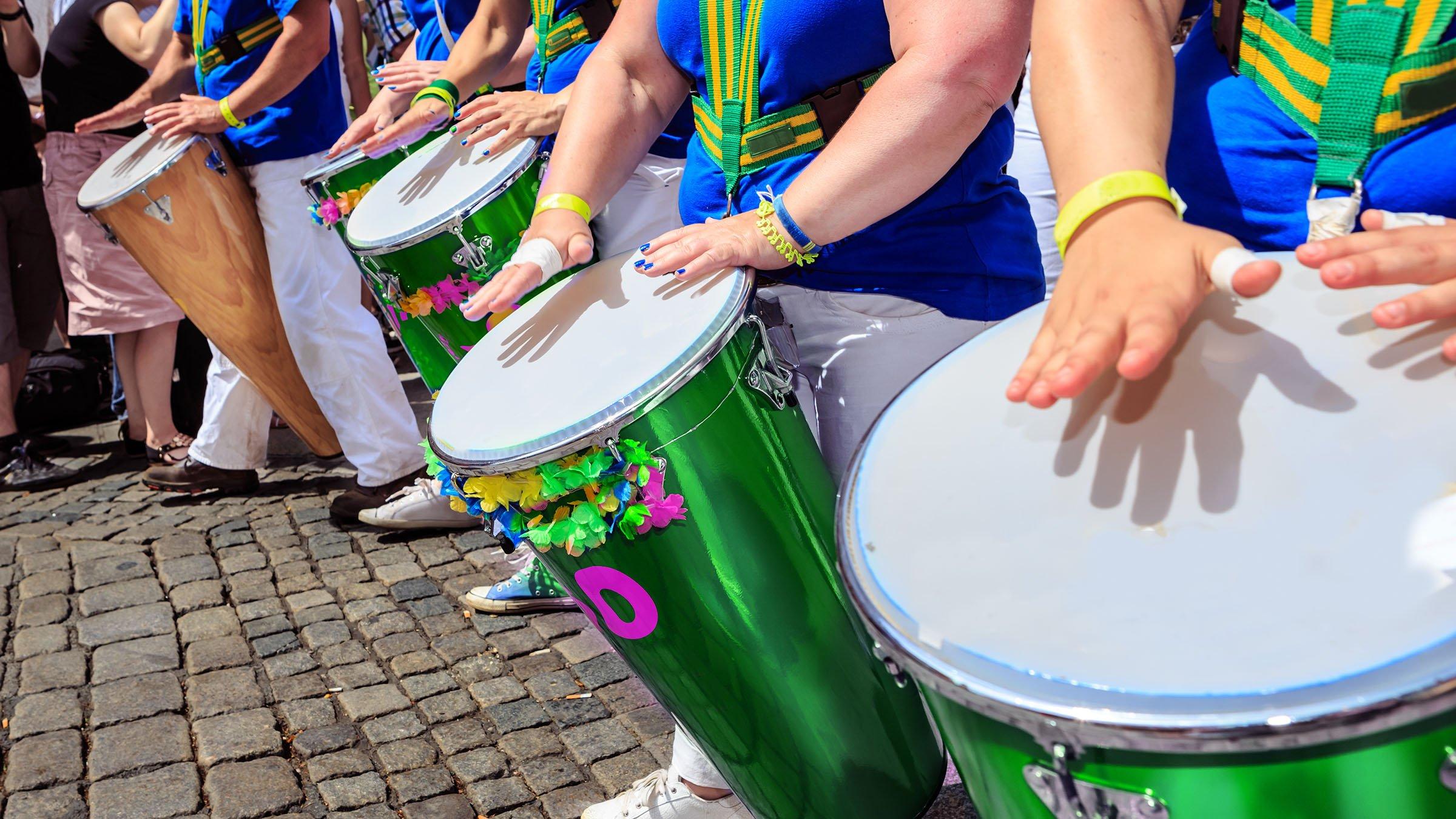 Samba brasilena