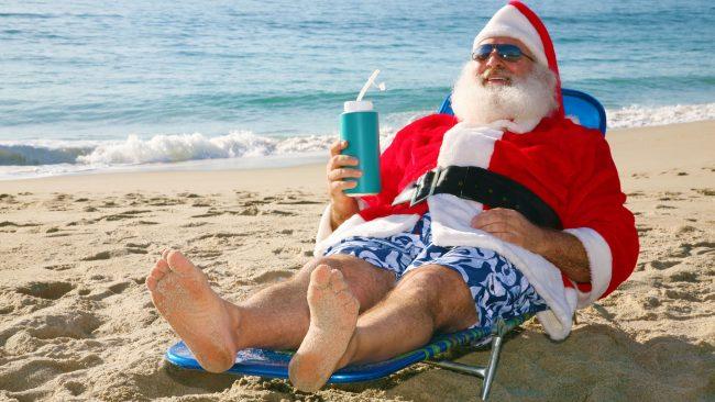 Santa Claus, conocido en Chile como Viejito Pascuero