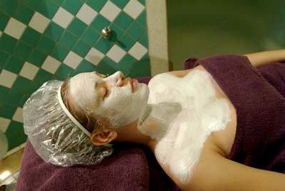 Sauna facial  limpieza