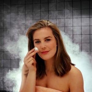 Sauna facial  vapor