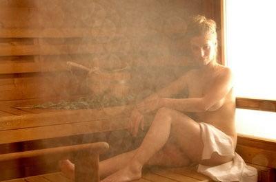 Sauna finlandesa vapor