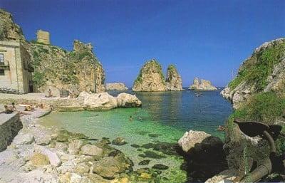 Scopello en Sicilia