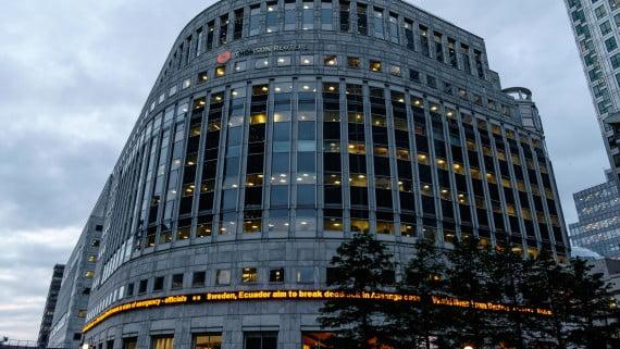 Sede de Reuters en Londres