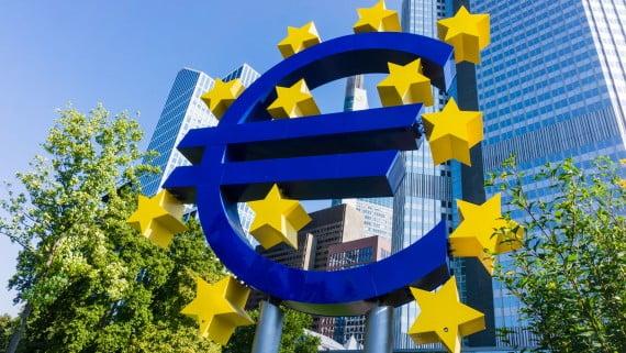 Sede del BCE en Frankfurt, Alemania
