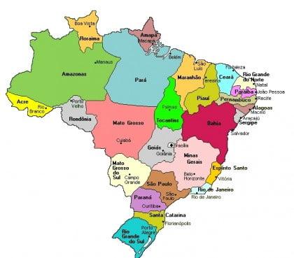 Sedes del mundial ciudades brasil 2014
