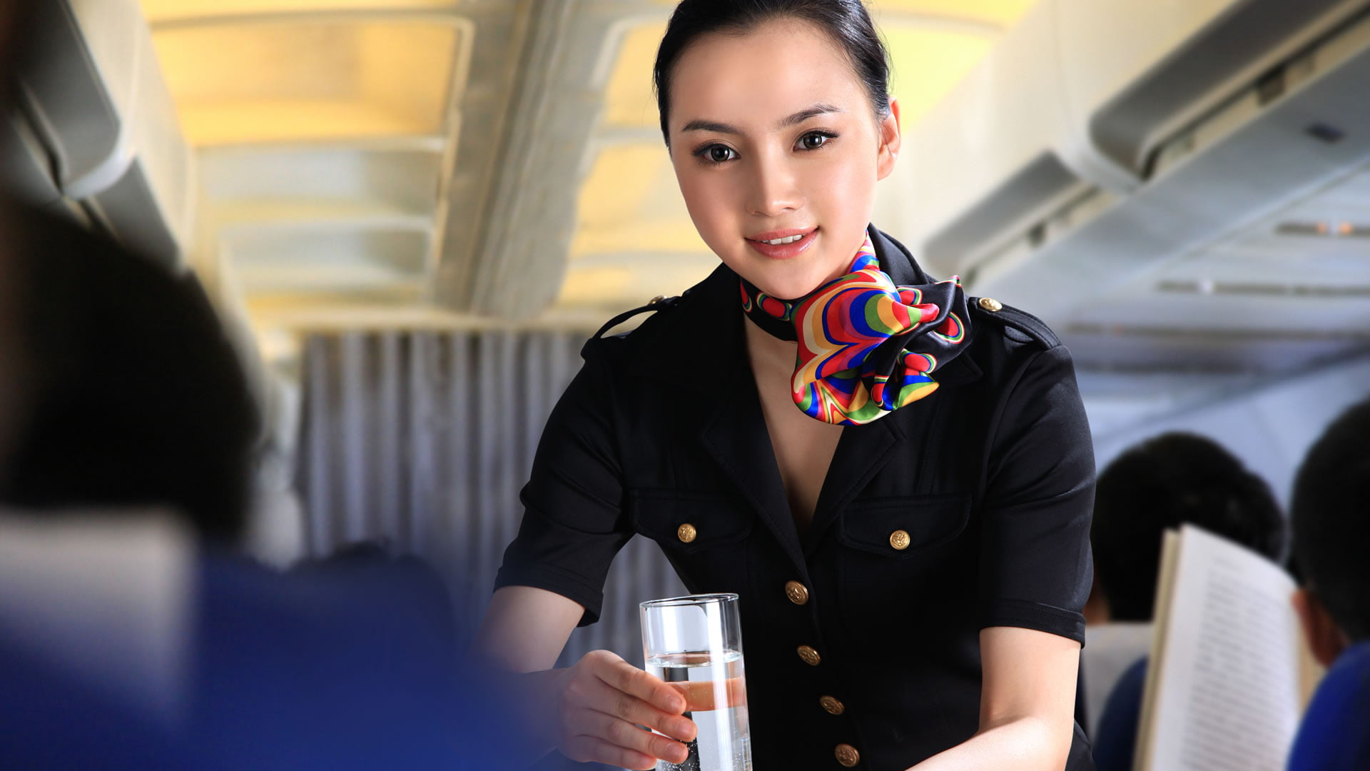 Desaparición del servicio de catering en avión