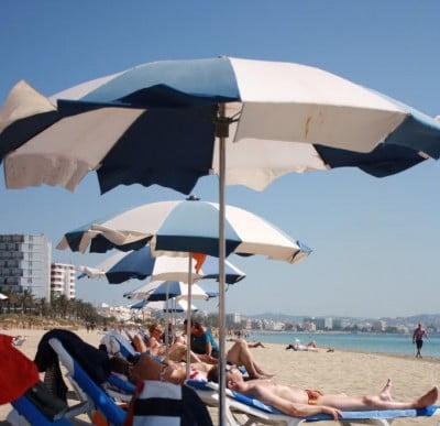 Sol de la isla de Ibiza