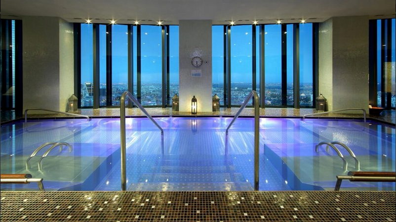 Spa en hotel madrid tower for Hotel con spa y piscina cerca de madrid