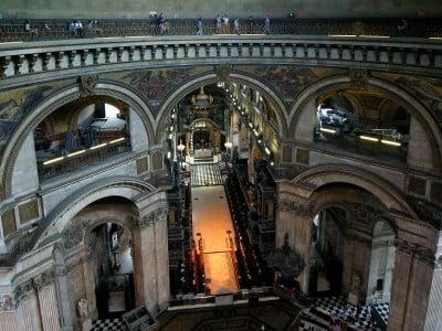 Interior de la Catedral desde la Whispering Gallery