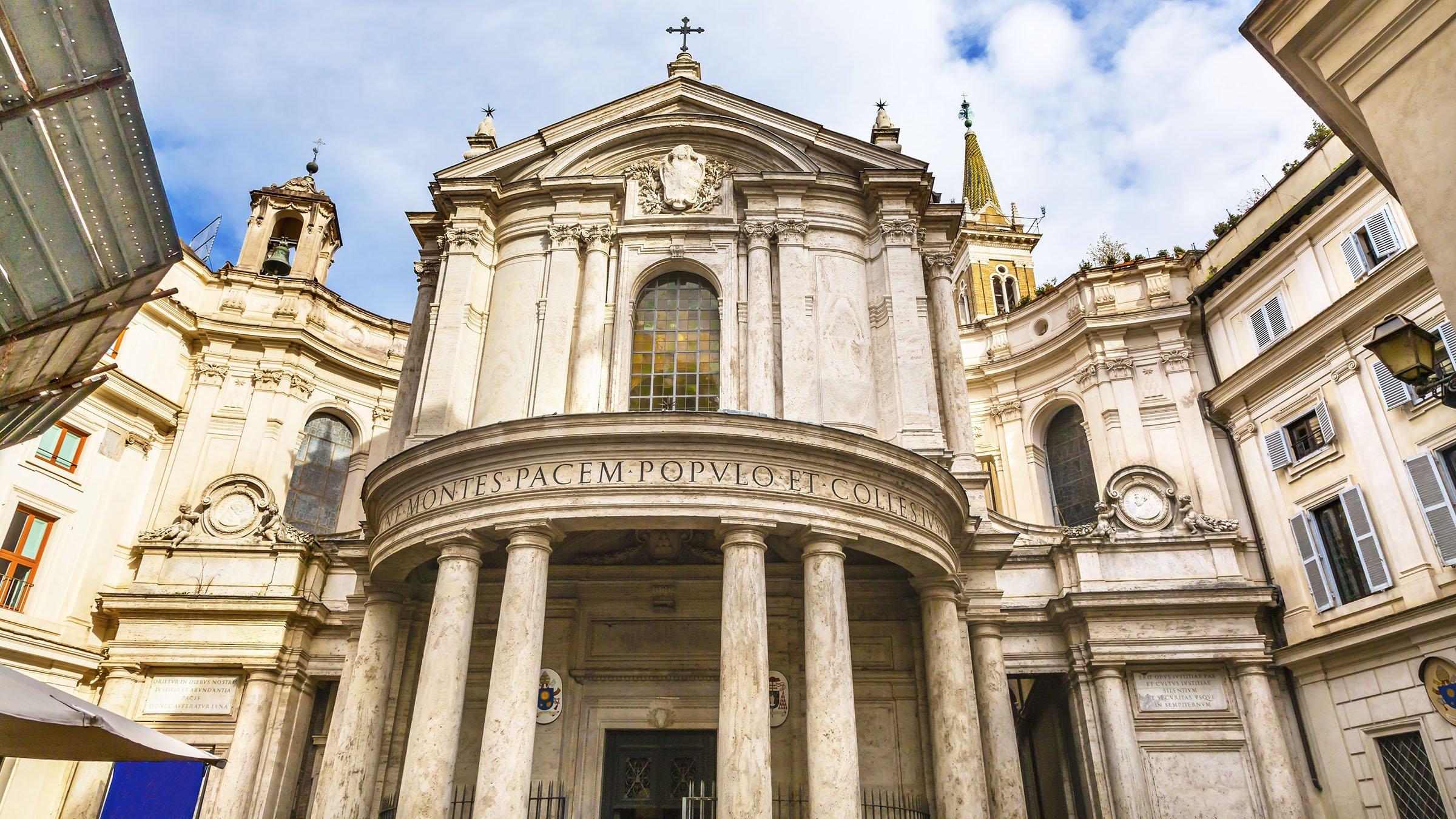 Iglesia Santa María della Pace, Roma