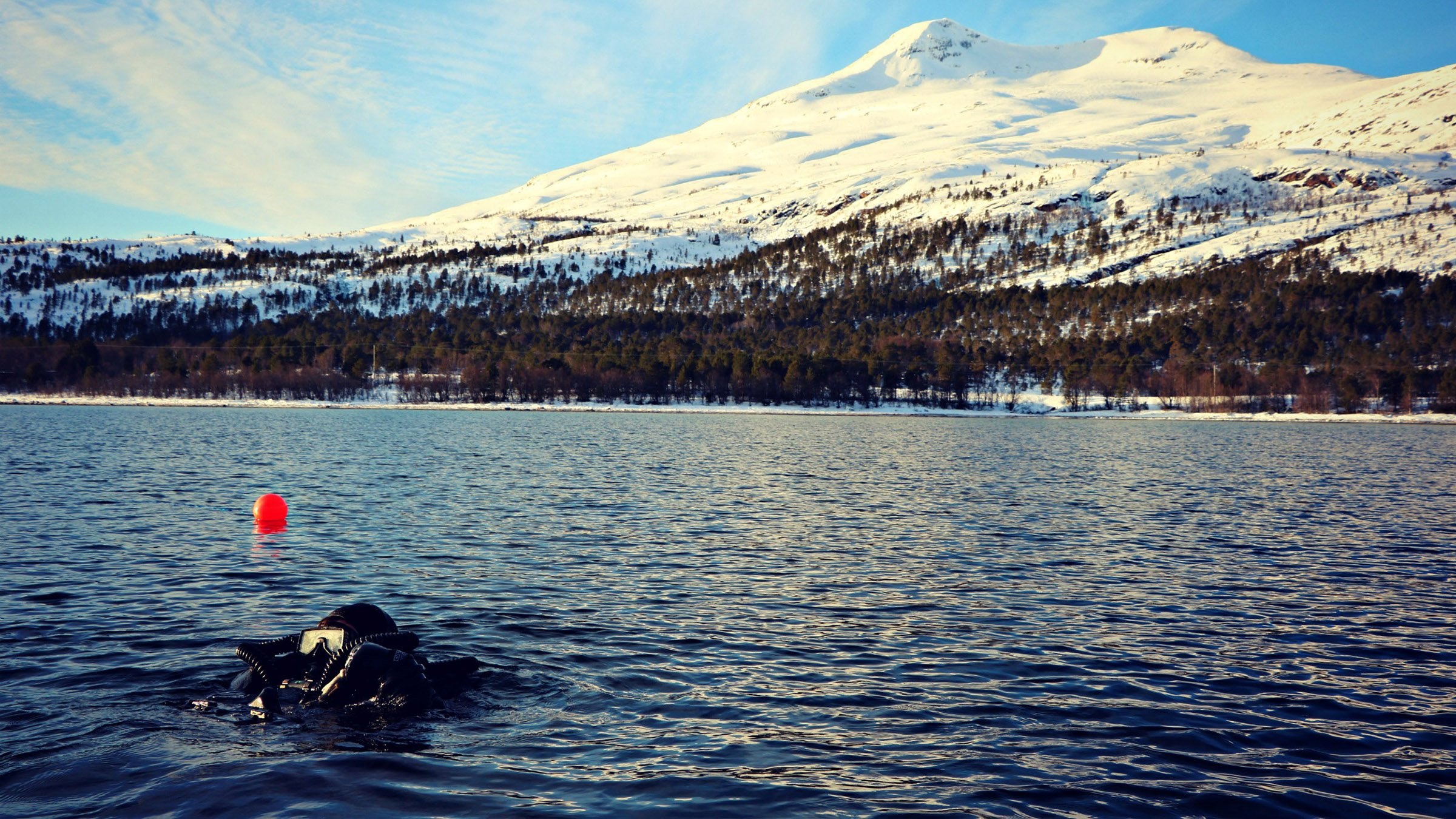 Submarinismo en Noruega