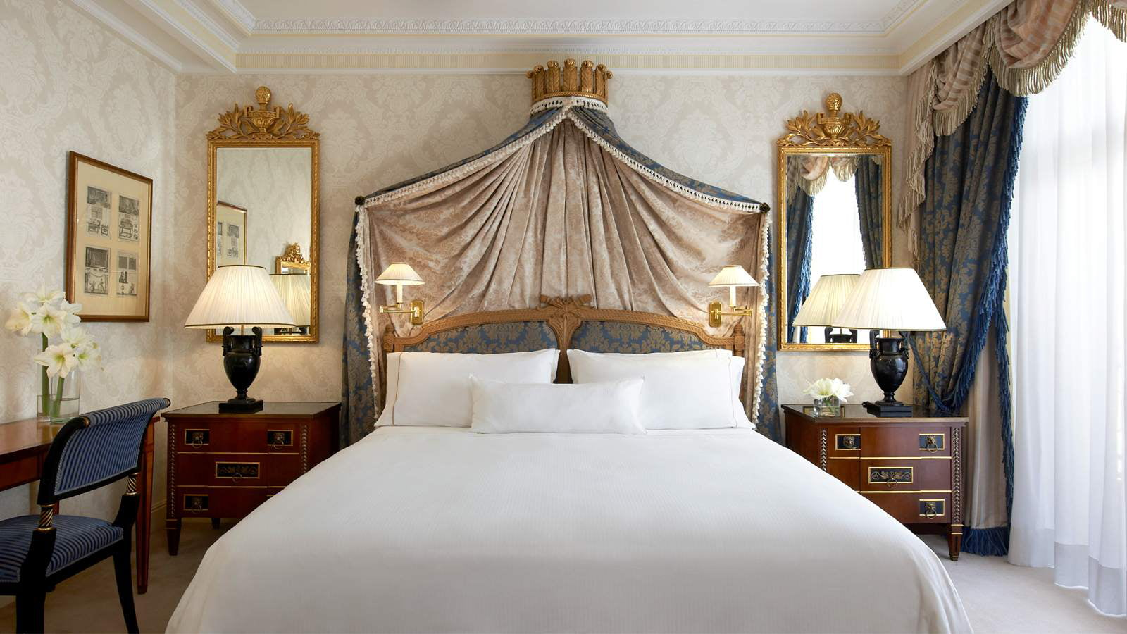 Suite real en hotel westin palace - Hotel the westin palace madrid ...