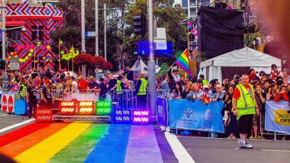 Sydney Gay and Lesbian Mardi Gras, Σίδνεϊ, Αυστραλία