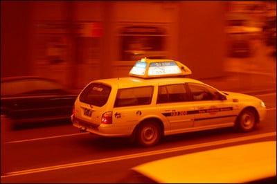 Sydney taxi driver