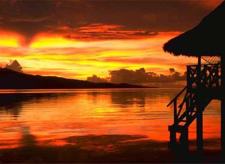 Tahiti de noche