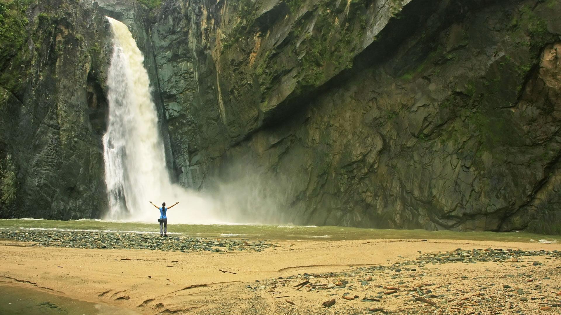 Cascada de Salto Jimenoa Uno, Jarabacoa, República Dominicana