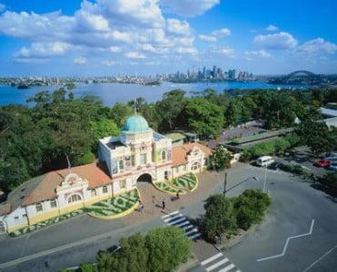 Taronga Zoo en Sidney