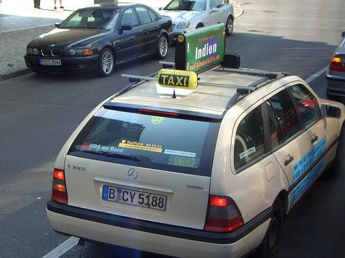 Taxi en Alemania