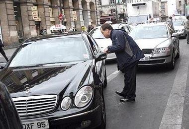 Taxi en Paris