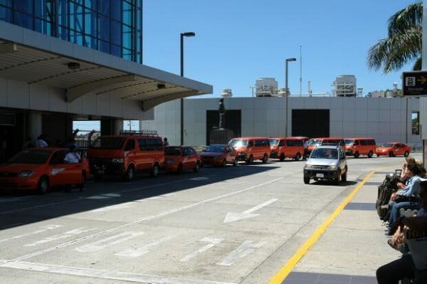 Taxis del Aeropuerto Internacional