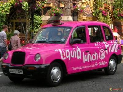 Taxis decorados de Londres