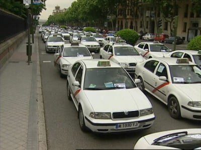 Taxis madrileños