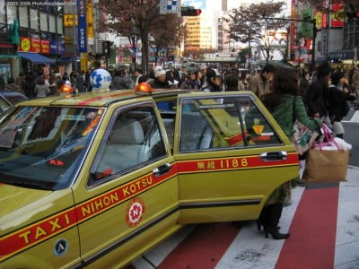 Taxis de Tokio